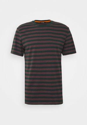 ONSMEL LIFE STRIPE TEE - T-shirt con stampa - scarab