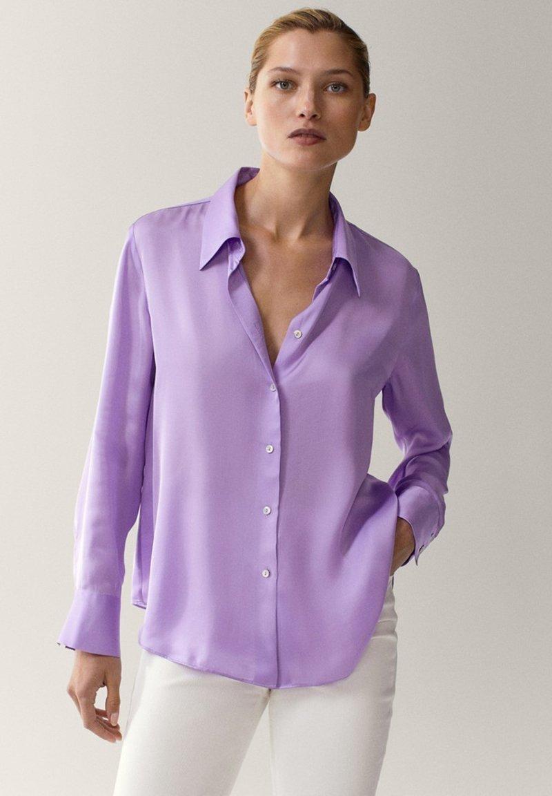 Massimo Dutti - Overhemdblouse - dark purple