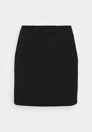 VMEVA SHORT SKIRT - Mini skirt - black