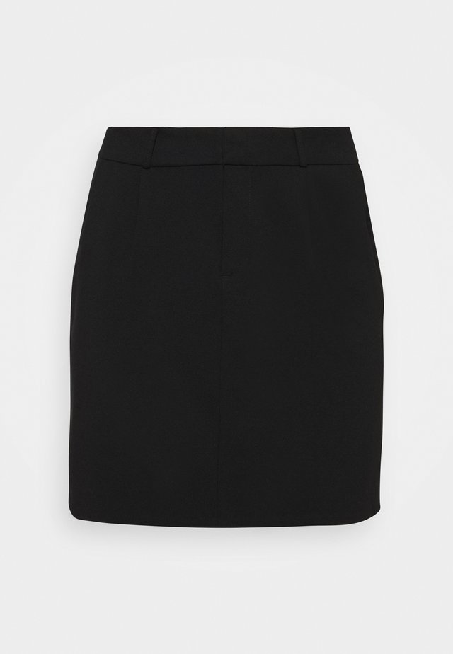 VMEVA SHORT SKIRT - Minigonna - black