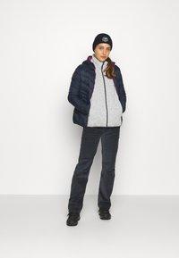 CMP - WOMAN JACKET FIX HOOD - Winter jacket - black/blue - 1