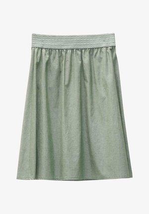 D.RO. SELZTHAL - A-line skirt - tanne