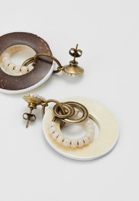 Konplott - MASSAI GOES FISHING - Earrings - gold-coloured - 2