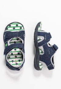 Walnut - BOUNCE - Walking sandals - dark blue - 0