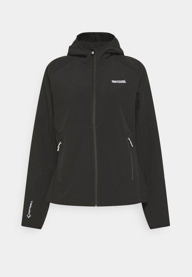 AREC III - Soft shell jacket - black
