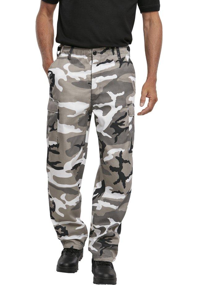 Pantalon cargo - snowcamo