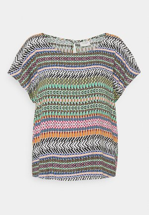 JDYSTAAR LIFE - Blouse - cloud dancer/multicolor