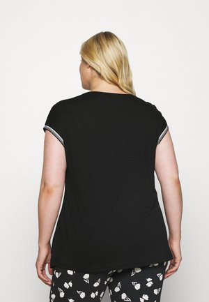 KCBOLINE - Print T-shirt - black deep