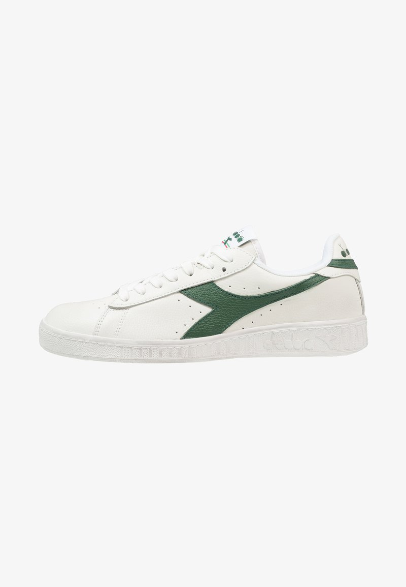Diadora - GAME WAXED - Trainers - white/fogliage