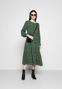 Even&Odd - Day dress - green/white - 1