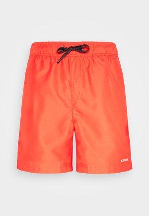 MELSTONE - Outdoor shorts - dark orange