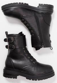 Tata Italia - Cowboy-/Bikerlaarsjes - black - 3