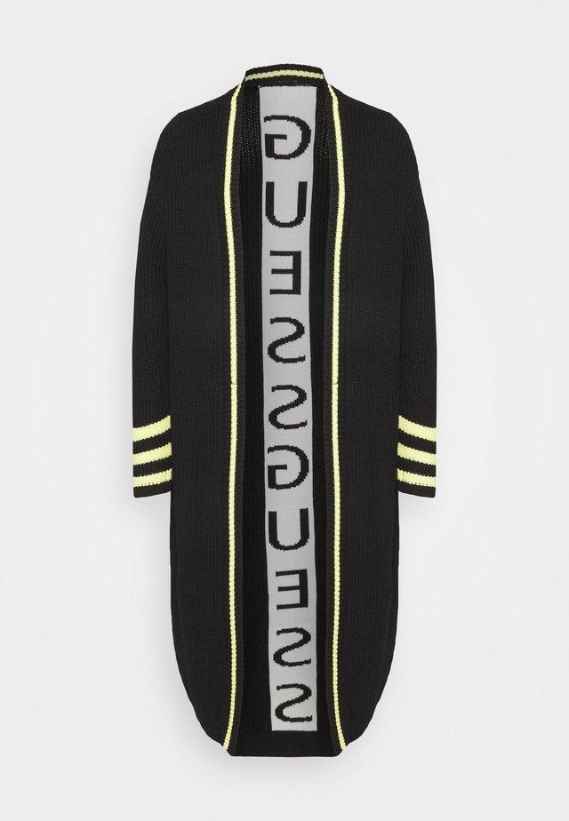 LIZZIE CARDIGAN - Cardigan - jet black