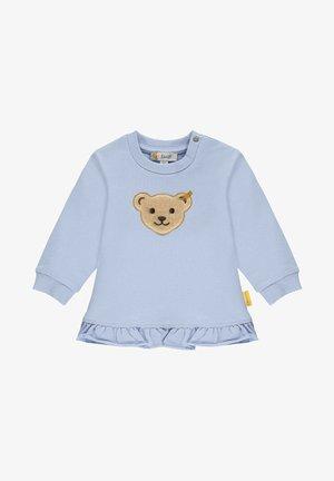 MIT GROSSEM TEDDYBÄRMOTIV - Sweatshirt - brunnera blue