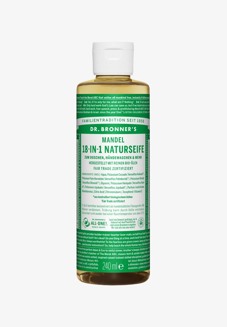 Dr. Bronner´s - 18-IN-1 NATURAL SOAP - Duschgel - mandel