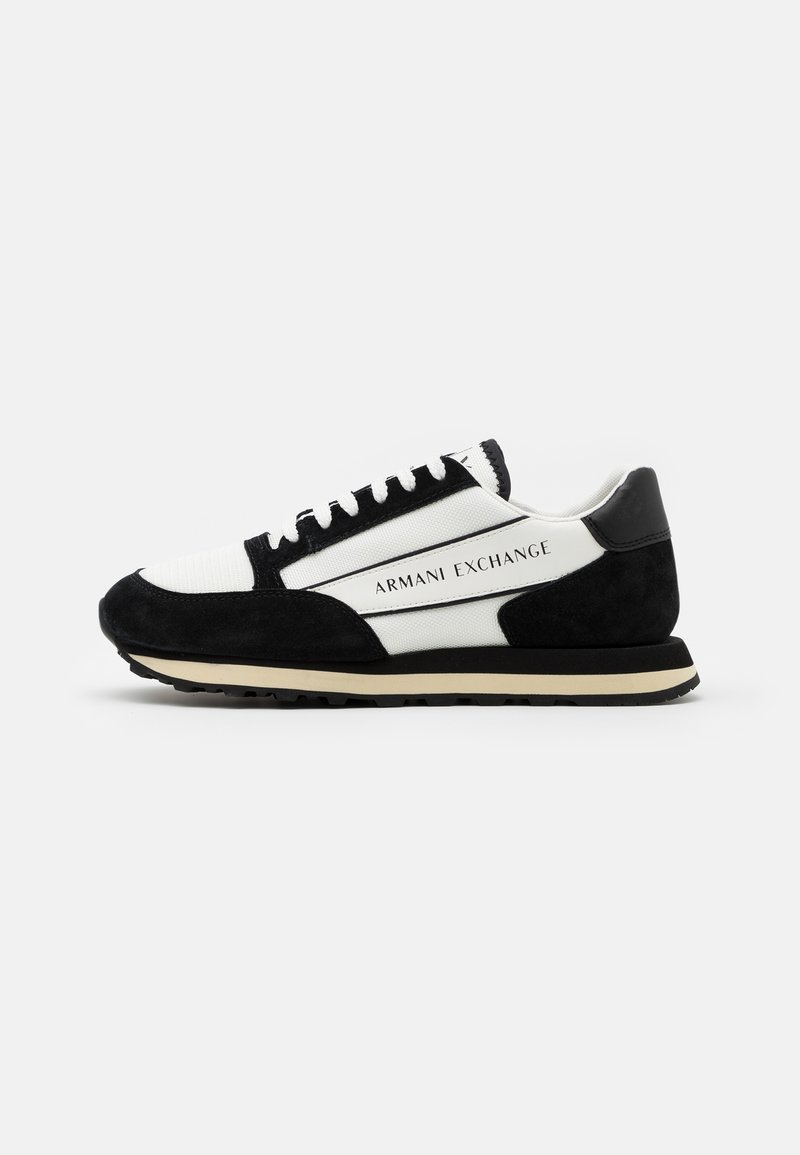 Armani Exchange - OSAKA  - Sneakers basse - white/black