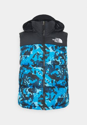 RETRO NUPTSE  - Weste - clear lake blue