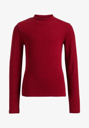 Long sleeved top - vintage red