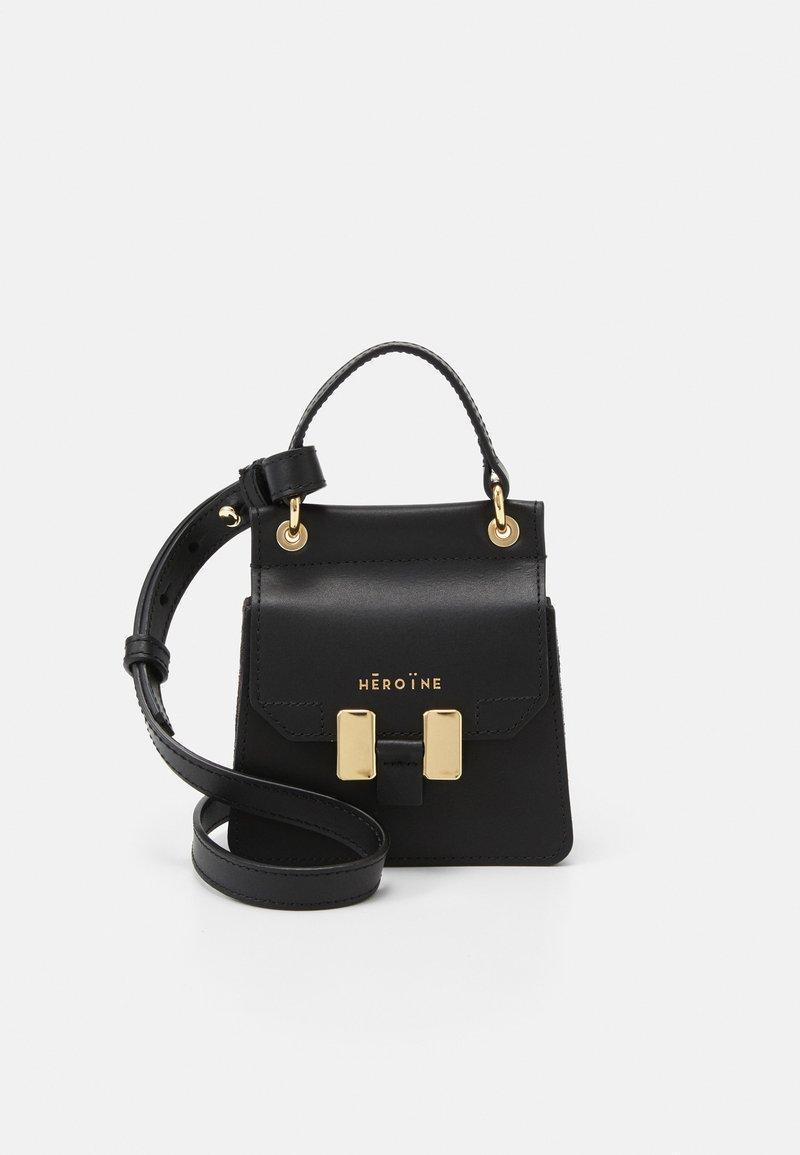 Maison Hēroïne - NANO MARLENE - Handbag - black
