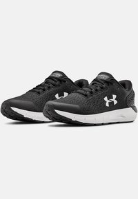 Under Armour - CHARGED  - Neutral running shoes - black - 2