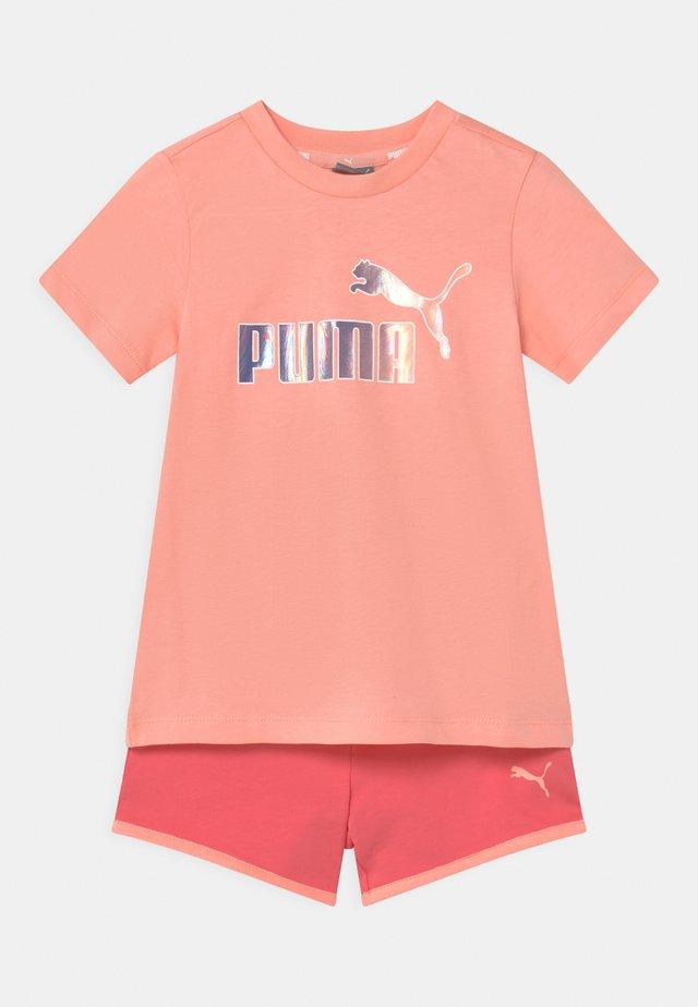 MINICATS SET UNISEX - T-shirt imprimé - apricot blush