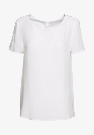 BLUSE - KURZE ÄRMEL - T-shirts - white