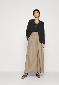 Esprit Collection - Maglietta a manica lunga - black - 1