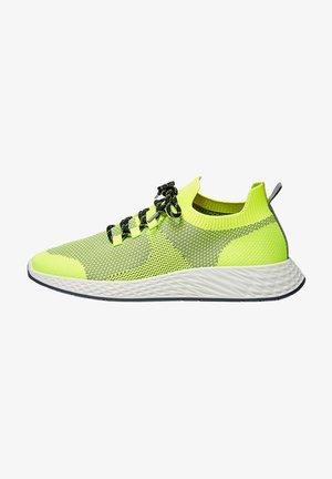 Sneakersy niskie - neon yellow