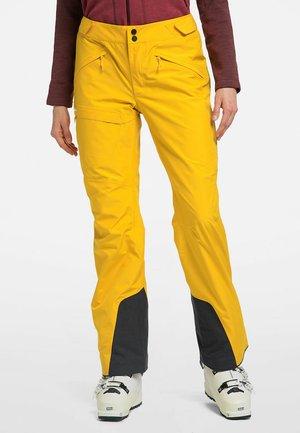 LUMI FORM PANT - Snow pants - pumpkin yellow