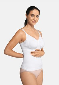 Carriwell - NURSING TOP WITH SHAPEWEAR - Undershirt - white - 0