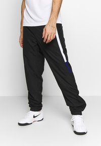 Lacoste Sport - TENNIS PANT - Träningsbyxor - black/white/cosmic - 0