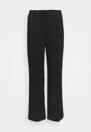 THE WIDE LEG PANTS - Trainingsbroek - black