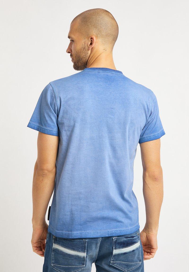Bruno Banani T-Shirt print - blau M6OqPd