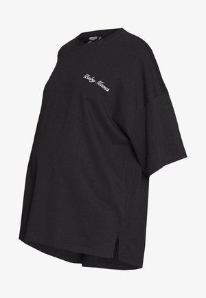 MATERNITY BABY MAMA - Print T-shirt - black