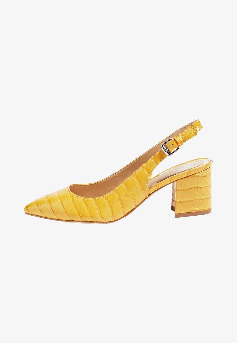 Guess - GUESS PUMPS TERNER ECHTES LEDER - Classic heels - yellow