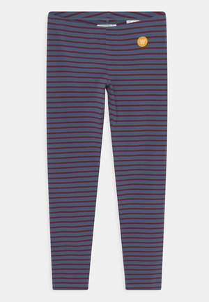 IRA UNISEX - Leggings - Trousers - blue/dark red