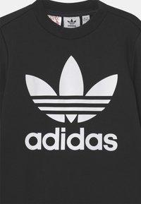 adidas Originals - CREW SET UNISEX - Survêtement - black/white - 3