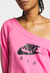 Nike Sportswear - AIR CREW  - Sweatshirt - pinksicle/black