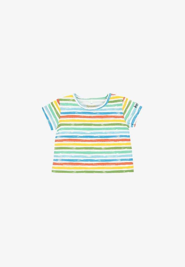 Print T-shirt - stripes