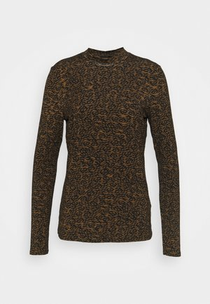 ZEBBIY - Long sleeved top - light brown