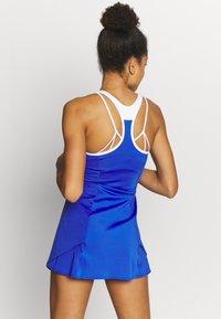 Mizuno - PRINTED DRESS - Jersey dress - dazzling blue - 2