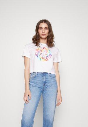 MARSHA - Print T-shirt - white