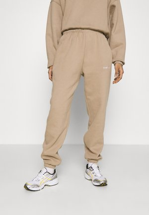 FAITH PANTS - Tracksuit bottoms - roasted beige