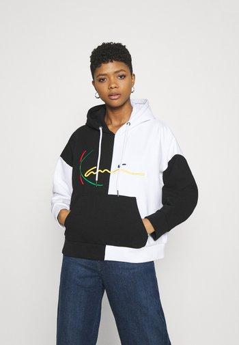 SIGNATURE BLOCK HOODIE - Sweatshirt - black