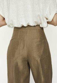 Massimo Dutti - Trousers - brown - 3