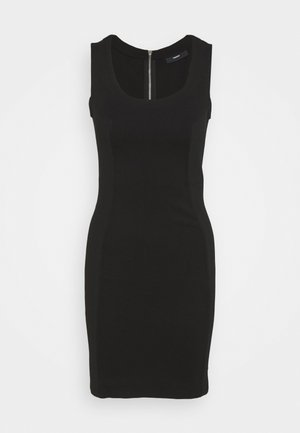 D-REKI - Jersey dress - black