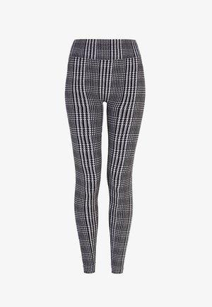 HOUNDSTOOTH  - Legging - black/white