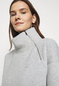 Lauren Ralph Lauren - MODERN KNIT - Denní šaty - pearl grey heather - 3