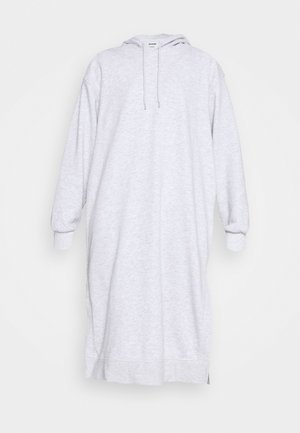 MARCIE HOOD DRESS - Kjole - grey melange