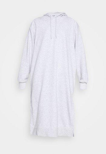 MARCIE HOOD DRESS - Day dress - grey melange